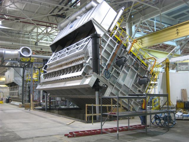 Heavy Industrial Furnace Equipment Manufacturing Facility Upgrade