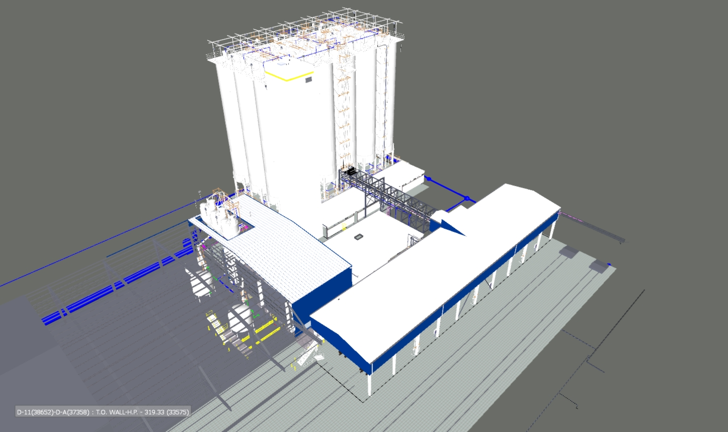 Starch Processing and Storage Facility
