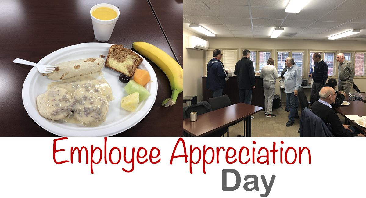 Vestal Corp employee appreciation day