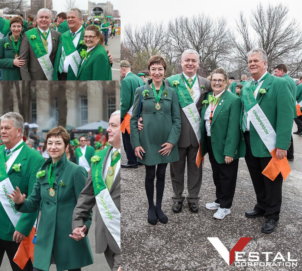 Vestal Corp St Patricks day