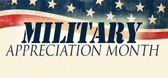 Vestal Corp celebrating National Military Appreciation Month