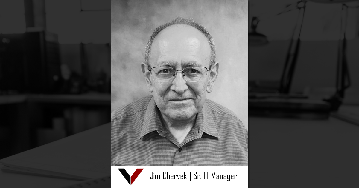 Jim Chervek, Sr. IT Manager, Vestal Corporation - Engineers | Architects | Construction Consultants