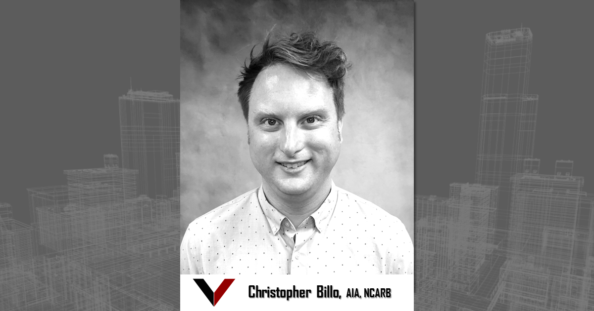 Christopher Billo, AIA, NCARB joins Vestal Corporation - Engineers | Architects | Construction Consultants
