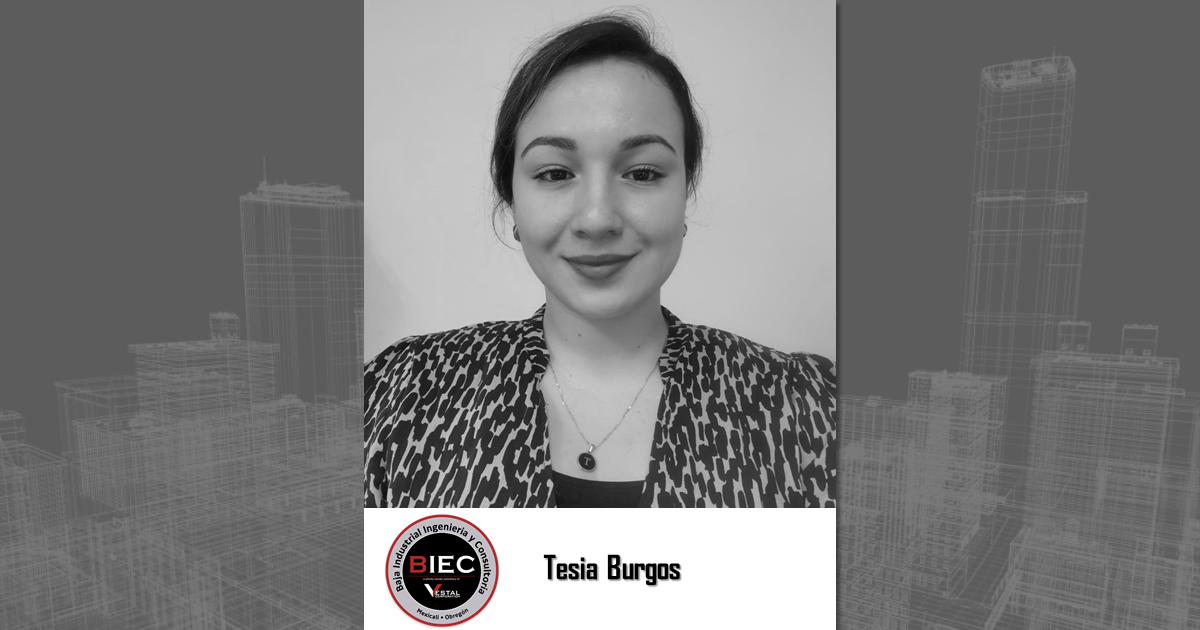 Tesia Burgos joins Baja Industrial Engineering, a wholly owned subsidiary of Vestal Corporation - Engineers | Architects | Construction Consultants