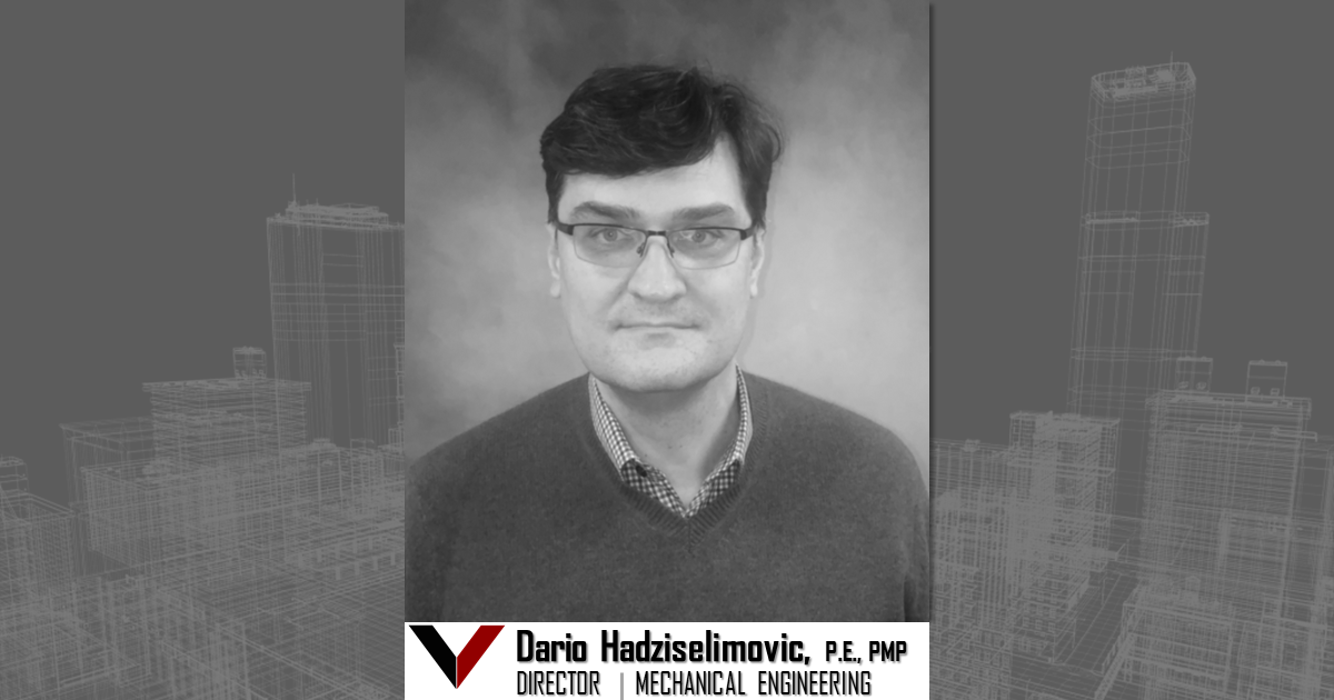 Vestal Corporation - Engineers | Architects | Construction Consultants Welcomes Dario Hadziselimovic