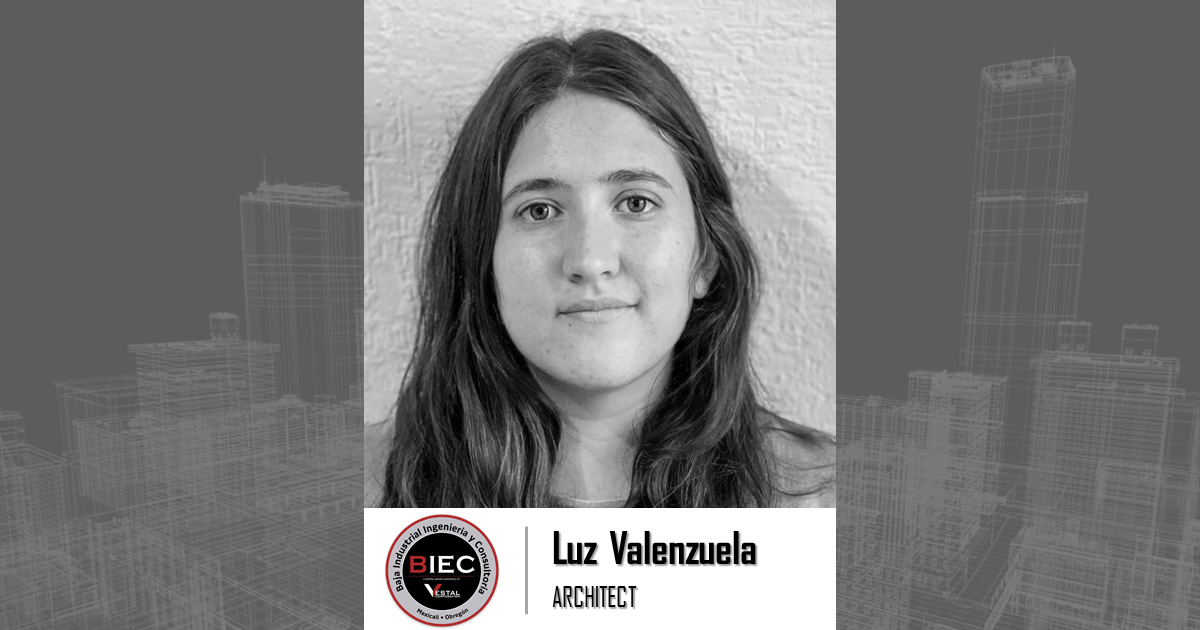 Baja Industrial Engineering and Consulting welcomes Luz Valenzuela
